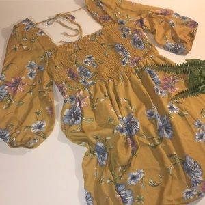 Xhilaration floral summer dress/tunic